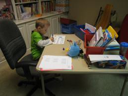 my first homeschool student
