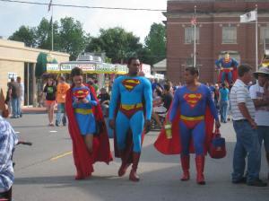 Super heroes...