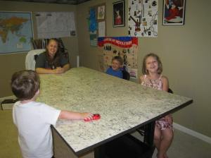 Look at our new table!!!