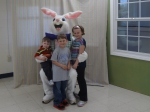 Easter Bunny, Littlest, Sparkles and Middle Boy