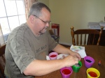 my husband dying eggs