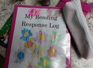 reading response binder by Sparkles