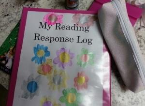 reading response binder by Sparkles