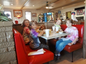 third annual back to homeschool breakfast at Hutchen's