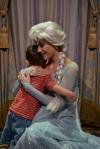 Littlest still hasn't stopped talking about Queen Elsa