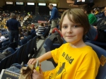 Oldest at Murray State game with Dad
