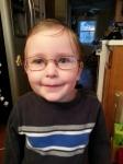 Littlest in my glasses