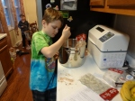 Oldest making Christmas goodies