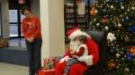 talking with Santa