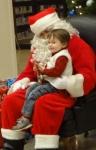 Littlest and Santa