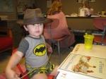 Indiana Jones at school this week