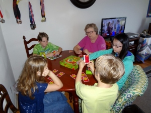 competitive game of Apples to Apples