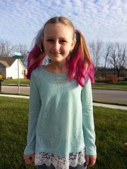 Sparkles new hair color