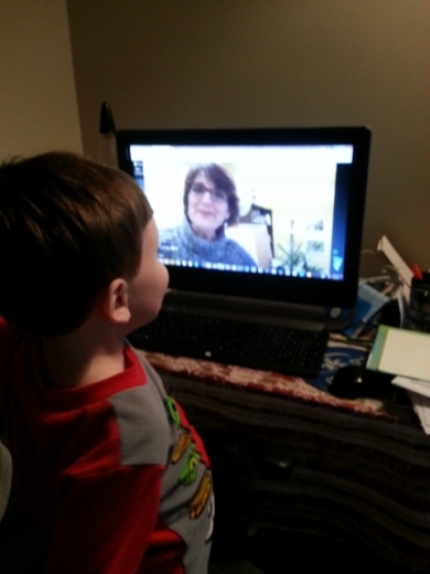 "Littlest ""talking"" to Julie Bogart"