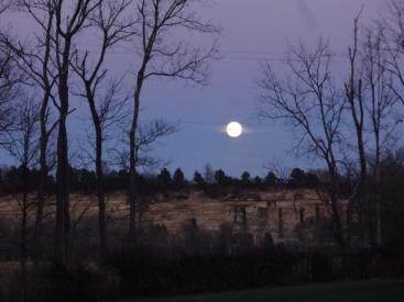 Christmas full moon 2015