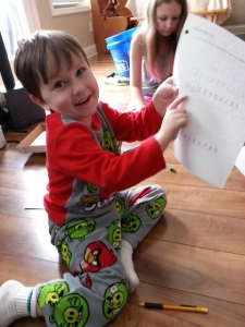 loving his math
