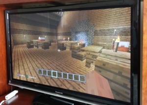 the Minecraft tavern