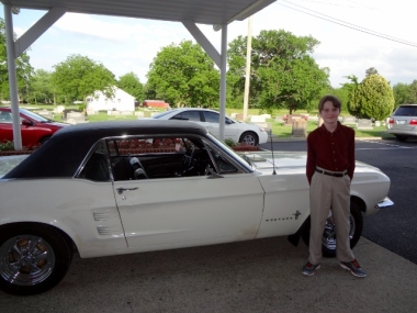 Jeremy's Mustang