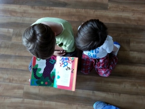 reading to Littlest